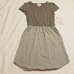 New LuLaRoe kids mae dress size 8
